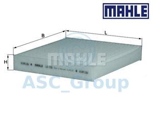 Original-Mahle-Recambio-Interior-Aire-Filtro-de-Polen-Habitaculo-la-155-LA155