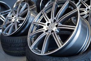 19-Zoll-KT16-Alu-Felgen-fuer-Mercedes-A-CLA-C-E-Klasse-A45-AMG-W204-W212-W176-207