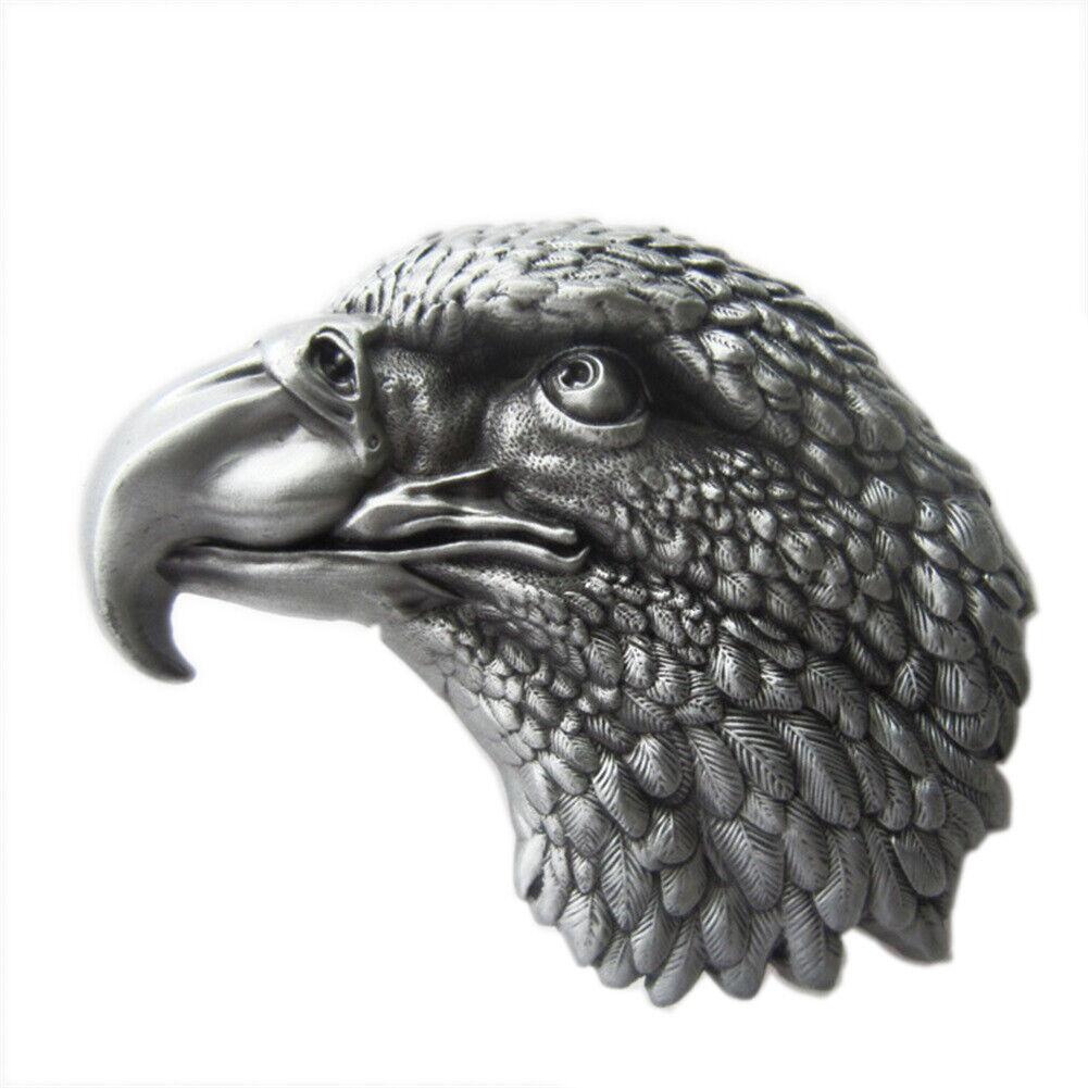 Eagle Head I Gürtelschnalle Cowboy Western Biker Club Rocker Outlaw Adler Kopf
