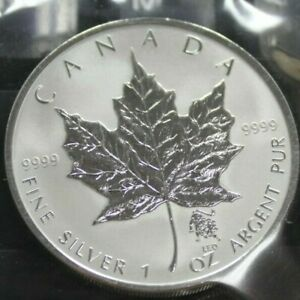 2004-Zodiac-Leo-Privy-Mark-5-Fine-Silver-Maple-Leaf-1oz-Coin-OOAK