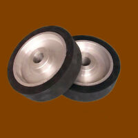 250*50*32mm flat surface Belt grinder Rubber contact wheel Abrasive belts