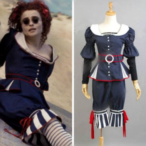 Film Sweeney Todd Mme Lovett par la mer Robe Uniforme Cosplay Costume Custom