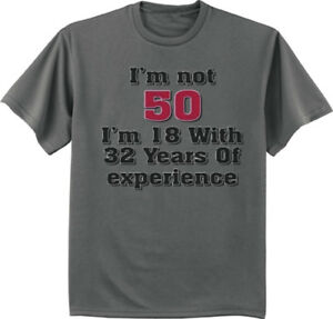 Image Is Loading 50th Birthday Gift T Shirt Turning 50 Funny