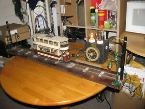 #2, ANTIQUE 1911 LIVERPOOL CORPORATION TRAMWAYS ELECTRIC MINIATURE DEMONSTRATION