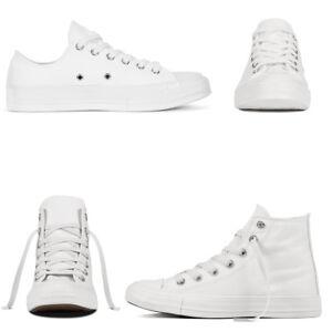 Scarpe-Da-Ginnastica-Bianche-Tela-Uomo-Donna-Sneakers-Alte-Basse-Casual-Unisex