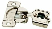 H1530sl-np 35mm 105° Euro Hinge Partial Overlay Nickel Finish Set Of 10