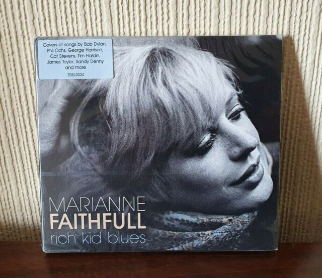 Marianne Faithfull - Rich Kid Blues CD (2018) - Brand New