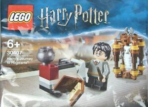 Lego-Harry-Potter-Harry-039-s-Journey-to-Poudlard-30407-polybag-Entierement-neuf-sous-emballage