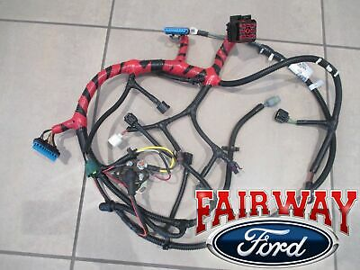99 super duty oem ford engine wiring harness 7.3l diesel w/o cali before  12/7/98 | ebay  ebay