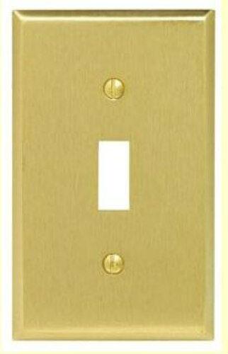 Vtg NOS Deal BAKELITE  Wall Light Switch//Socket Plate Cover Brown