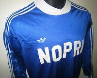 Vtg Adidas 80s Football Shirt Retro Jersey Camiseta Ventex Maillot Trikot S M