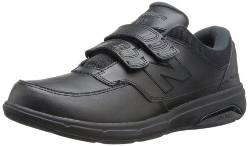 Cuero Negro Para Hombre Balance Mw813hbk Lazo Cómodo Zapatos Andar Gancho New Y qIftOw6pwx
