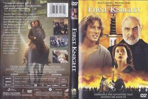 Dvd First Knight Sean Connery Richard Gere Julia Ormond 43396711792 Ebay