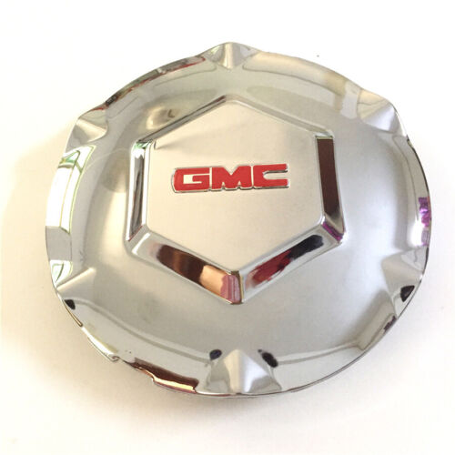 "New 2002-07 GMC ENVOY XL XUV N80 Wheel Center Hub Caps Chrome 17/"" Wheel 6 Spoke"