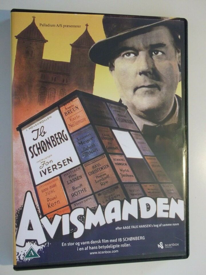 Avismanden, instruktør Jon Iversen, DVD