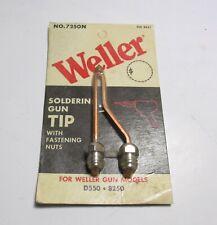 New Weller 7250n Soldering Gun Tip For D550 Amp 8250 Soldering Gun
