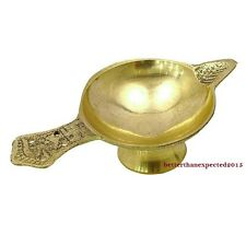 21 x Brass Diyas Oil Lamps Diya for Hindu Puja Religious FREE SHIP WHOLESALE LOT