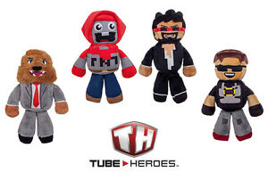 CaptainSparklez Tube Heroes Plush