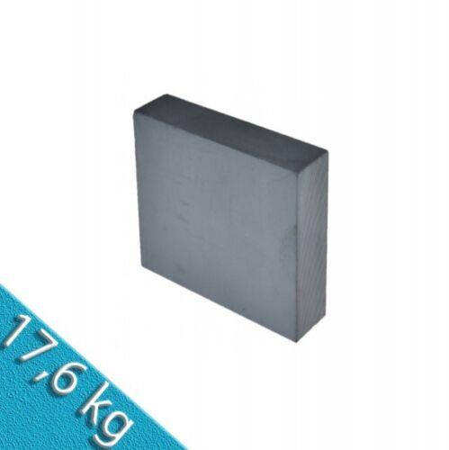 hält 17,6 kg Quadermagnet 100,0 x 100,0 x 25,0 mm Y30 Ferrit