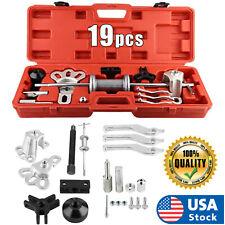 Usa Slide Hammer Dent Puller Tool Kit Wrench Adapter Axle Bearing Hub Auto Set