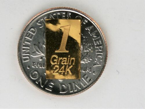 New 1//15 Gram Gold Bar  24K 999.9 Fine Gold Bullion Bar in sealed cert card 27b