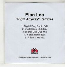 (GU328) Elan Lea, Right Anyway (remixes) - DJ CD