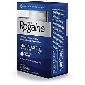 Rogaine Men's Hair Regrowth Treatment Foam - 2.11 Oz.