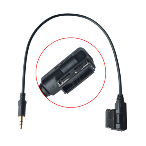 Audio Aux Adapter Media In AMI MDI to Stereo 3.5mm Cable For Car VW AUDI A4 USA