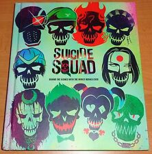 Suicide Squad: Behind the Scenes with the Worst Heroes Ever, Hardcover Book, New