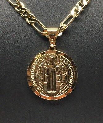 """Gallo Medalla Gold Pl Chicken Rooster Pendant Necklace Tres Color 26/"""" Cadena Oro"""