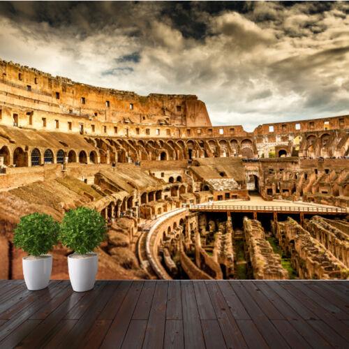 Coliseum Rome famous places wallpaper mural design wm084