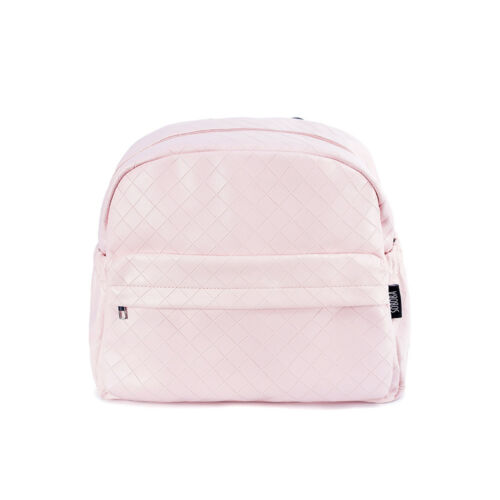 Soboba Fashionable Plaid Pink Diaper Bag for Mommies Large Capacity Backpack