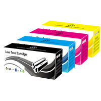 4 NEW Toner Cartridges for HP CM1312N CP1215 CP1215N