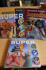 Readers Digest Jugendbuch 2011, 2008 und 2009 - NEU OVP 3 Bücher - 28,5 x 23,5 c