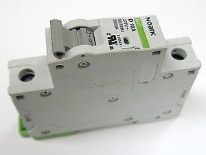 Circuit Breakers & Disconnectors 10 Amp Noark 2 Pole Din Rail MCB ...