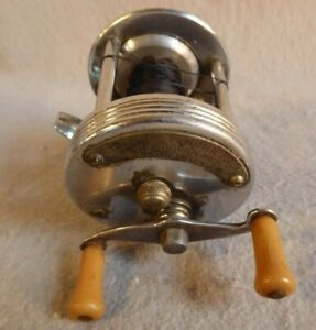 Lifetime Products Inc Fishing Reel Level Wind Rare Vintage Dearborn Michigan