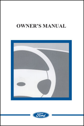 Ford 2008 Mustang Shelby  Owner Manual Portfolio Kit English 08