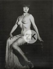 ALFRED CHENEY JOHNSTON Pin-up NU Ziegfeld Oversize Photo 1920s