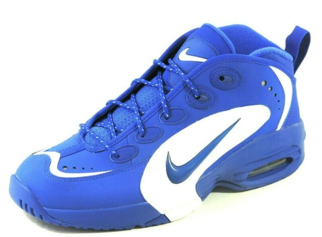 Nike Air Way Up 579945 400 Basketball Leather Mens Shoes Hyper Blue Retro DS