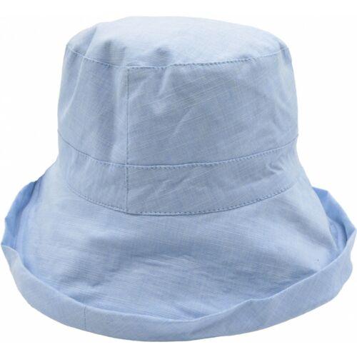 Extra Grande Fit Señoras Cabeza Grande Sol Sombrero Reversible Guinga Cloche Sol Sombrero 59cm