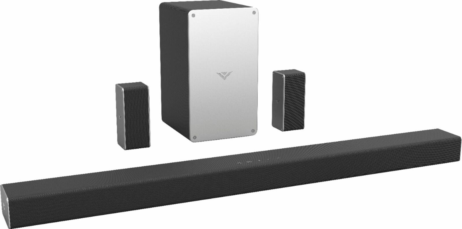 "VIZIO - SmartCast 5.1 Channel Sound Bar System with 5-1/4"" W"
