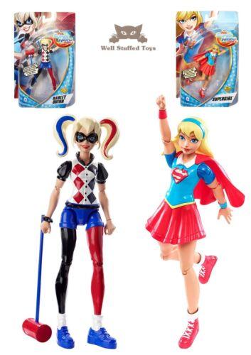Mattel DMM34 DC Super Héroe Chicas Super Girl O Harley Quinn Figura de Acción 6 pulgadas