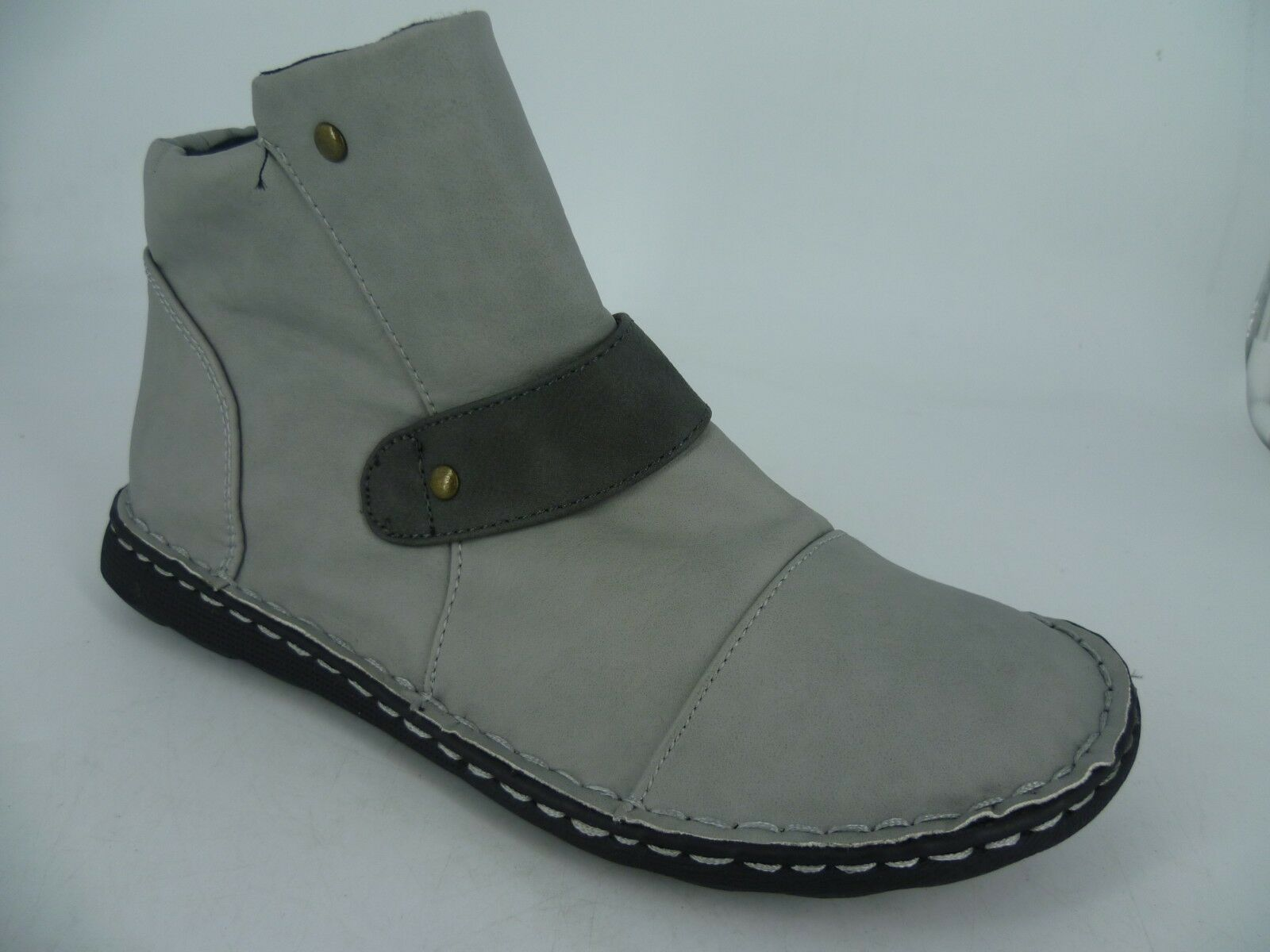 Bon Prix Ladies Grey Ankle Boots UK 5 EU 38 LN092 VV 01
