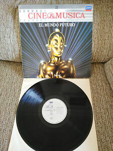 EL-MUNDO-FUTURO-METROPOLI-DUNE-SOUNDTRACK-LP-VINYL-12-034-1987-VG-VG-SPANISH-EDT