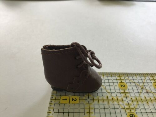 "1 3//8"" Light Brown Leather Boots for Antique Repro or Modern Doll"
