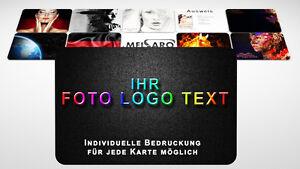Details Zu Plastikkarten Visitenkarten Pvc Karten Beidseitig Cmyk Farbig Bedruckt 0 76mm
