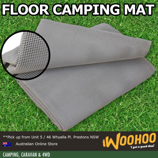 Camping Mat / Rubber Net / Annex / Awning Floor / 300 x 250 cm - Steel Grey