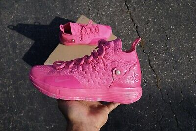 New Nike KD 11 Aunt Pearl (GS) Laser