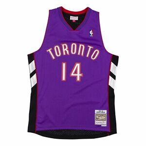 Men Toronto Raptors Muggsy Bogues Mitchell & Ness Purple 1999-00 NBA HWC Jersey