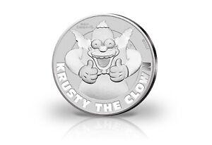 Simpsons Krusty der Clown 1 oz Silber 2020